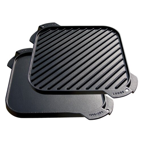 "Lodge 15"" Reversible Grill Pan and Griddle"