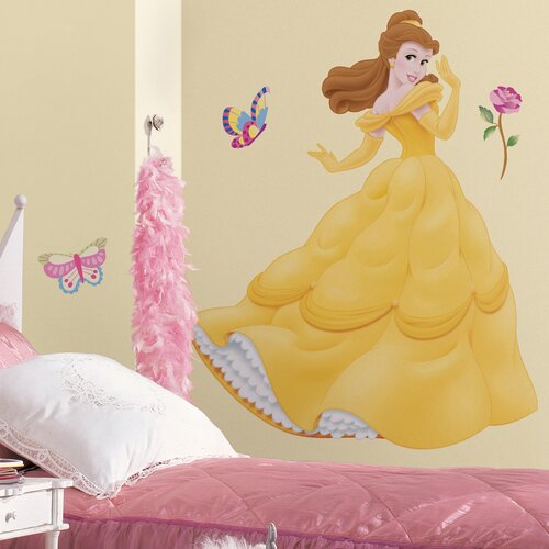 Licensed Designs 35 Piece Belle Giant Wall Decal Set