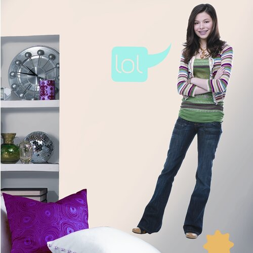 Favorite Characters 11 Piece Nickelodeon iCarly Giant Wall Decal Set