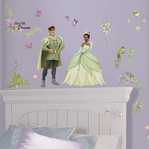 Licensed Designs The Princess and The Frog Wall Decal