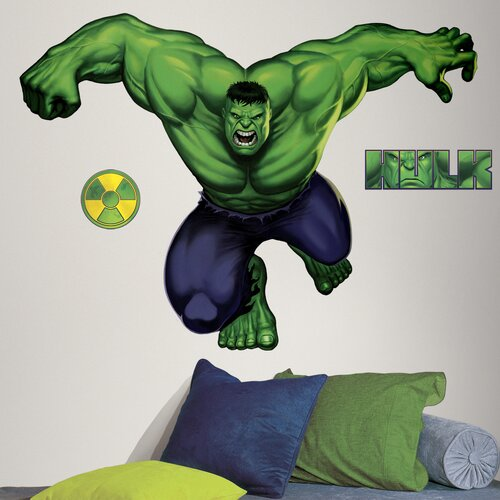 Room Mates Licensed Designs Hulk Giant Wall Decal