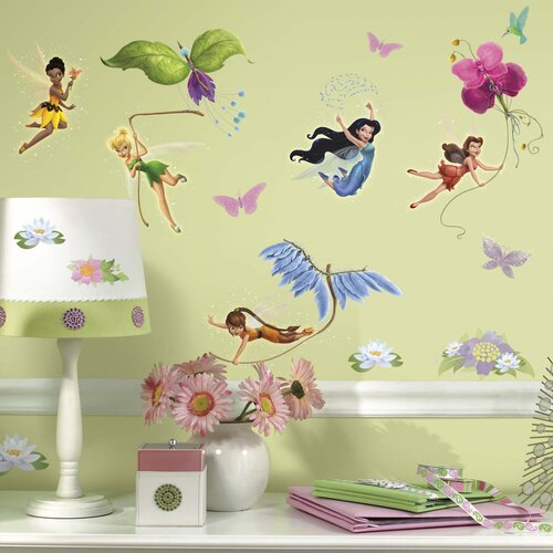 Licensed Designs Disney Fairies Wall Decal