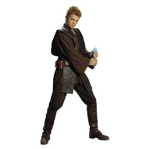 Star Wars Episodes 1 - 3 Anakin Giant Wall Decal