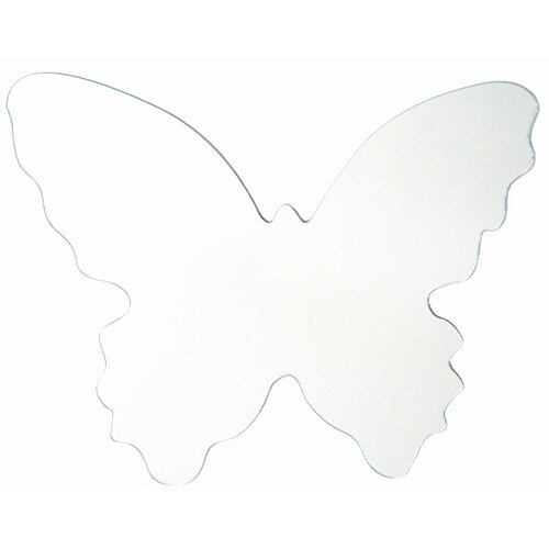 Butterfly Large Peel and Stick Mirror