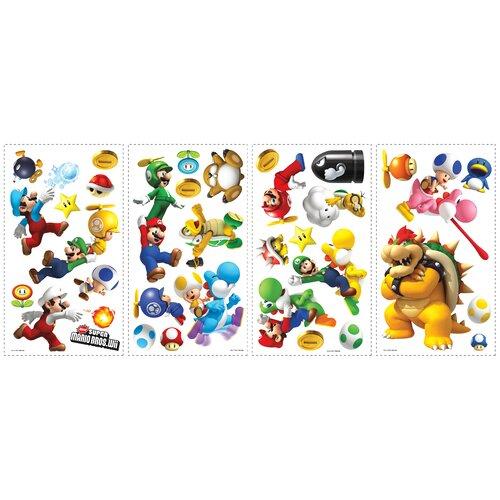 Room Mates Super Mario Bros. Wii Wall Decal