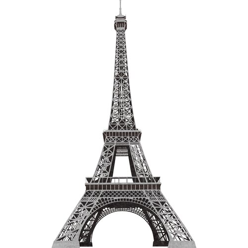 Room Mates 13 Piece Eiffel Tower Giant Wall Decal