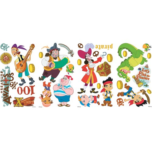 Room Mates Jake And The Neverland Pirates Wall Decal