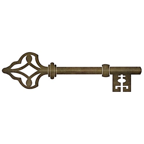 Antique Key Wall Decal