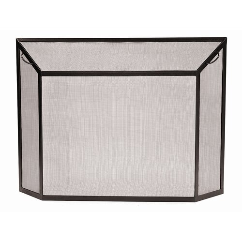 Minuteman International Spark Wrought Iron Fireplace Screen