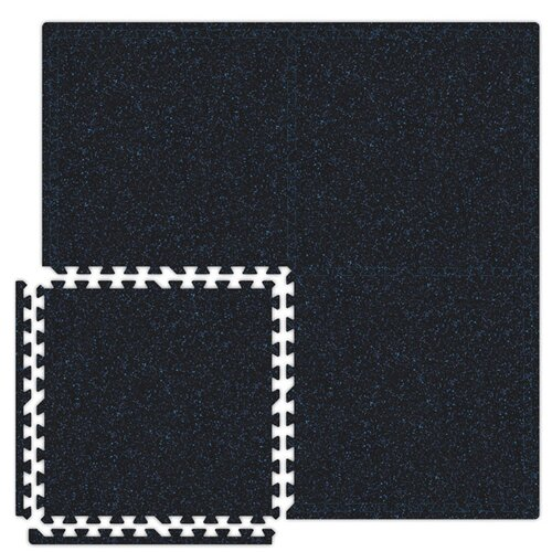 Alessco Inc. SoftRubber Set in Black / Royal Blue