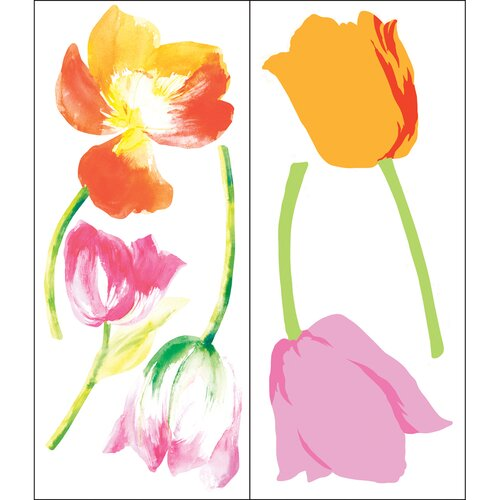 Blue Mountain Wallcoverings Tulip Mania Wall Decal