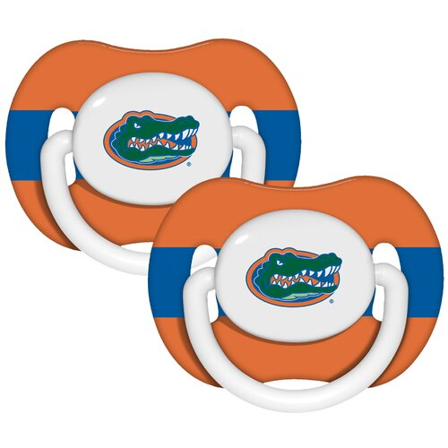 Baby Fanatic NCAA 2 Pack Baby Pacifiers