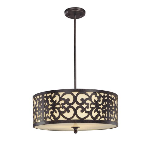 Minka Lavery Spazio 3 Light Drum Pendant