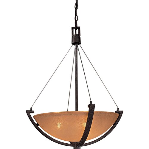 Raiden 3 Light Foyer Inverted Pendant