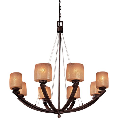Minka Lavery Raiden 8 Light Chandelier