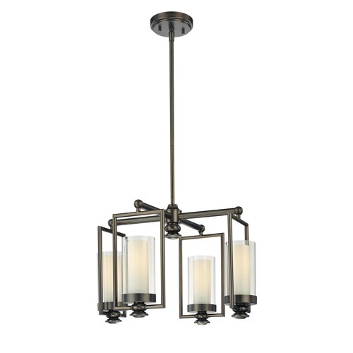 Minka Lavery Harvard Court 4 Light Chandelier