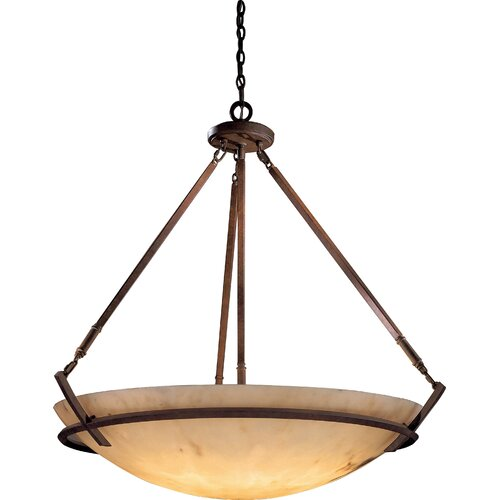 Calavera 8 Light Foyer Inverted Pendant