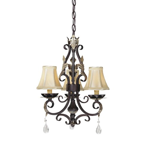 Minka Lavery Bellasera 3 Light Mini Chandelier