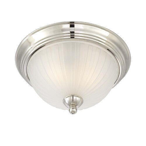 Minka Lavery 1730 Series 2 Light Semi-Flush Mount