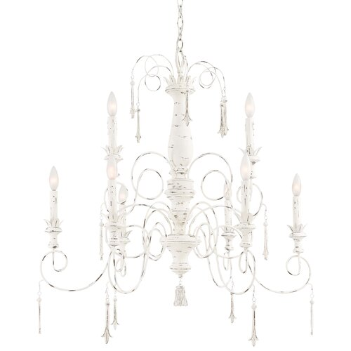 Minka Lavery Accents Provence 9 Light Chandelier