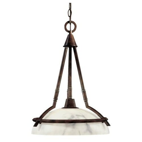 Calavera 1 Light Nook Inverted Pendant