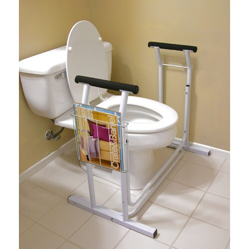 Jobar International Deluxe Toilet Safety Frame