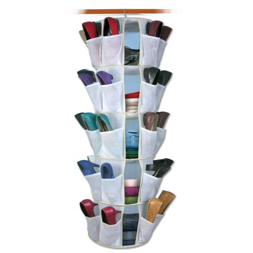 Jobar International 40-Pocket Spinning Closet Organizer