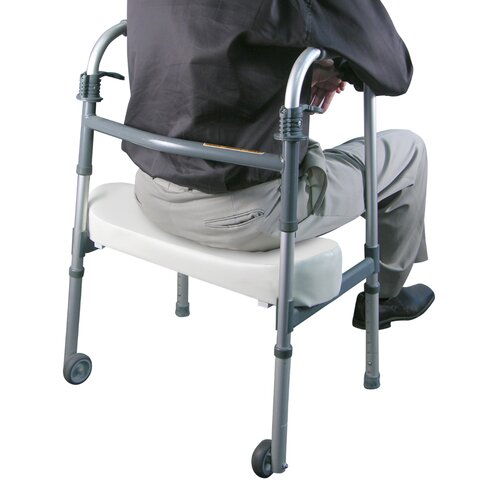 Jobar International Padded Walker Rest Seat