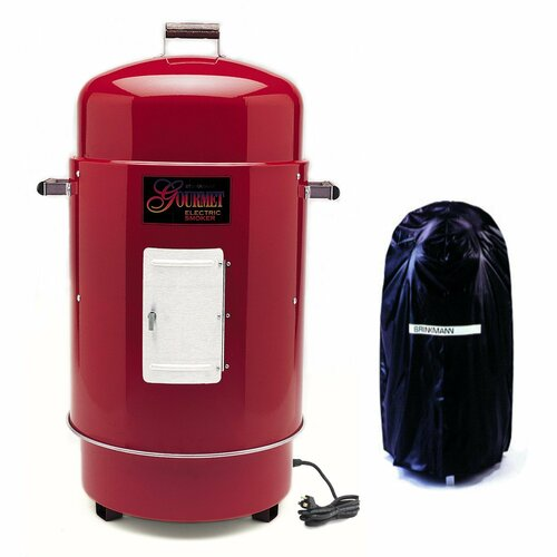 Brinkmann The Gourmet Electric Smoker & Grill with Vinyl Cover