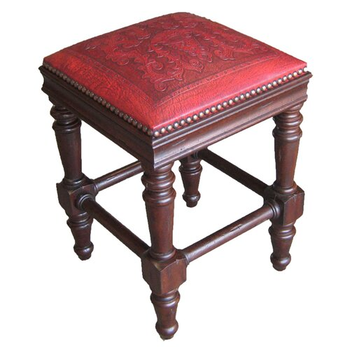 "New World Trading 26"" Bar Stool with Cushion"