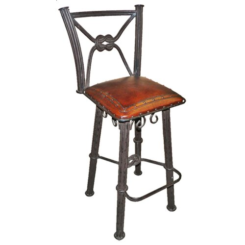 "New World Trading Western Iron 38"" Bar Stool"