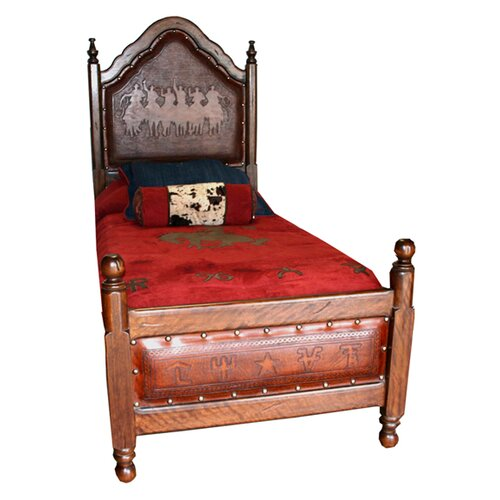 New World Trading Kid's Spanish Bed