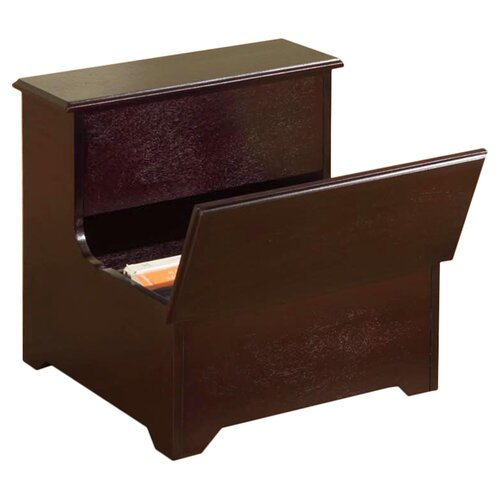 InRoom Designs Storage 2 Step Stool