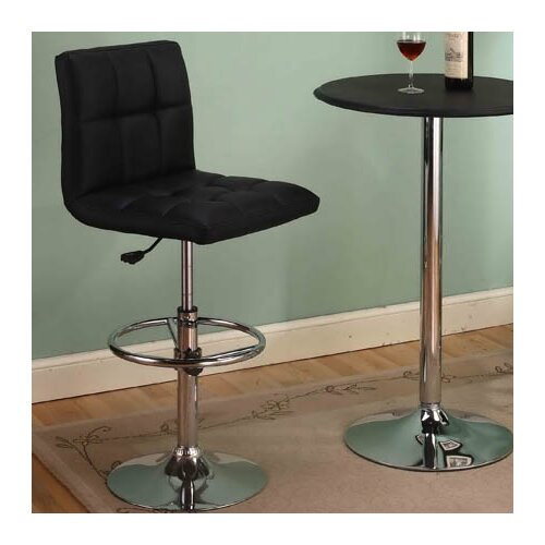 InRoom Designs Adjustable Swivel Bar Stool