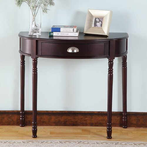 InRoom Designs Console Table with Drawer