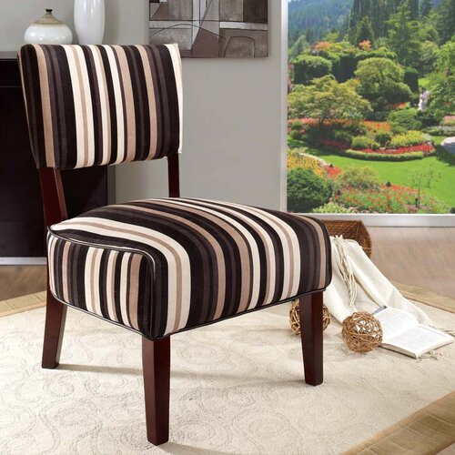 InRoom Designs Fabric Slipper Chair