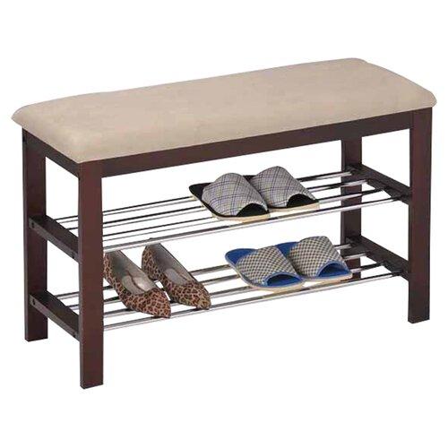 Inroom designs shoe rack bedroom hallway bench reviews for Rack design for bedroom