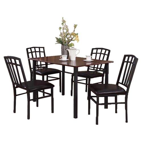 InRoom Designs 5 Piece Dining Set