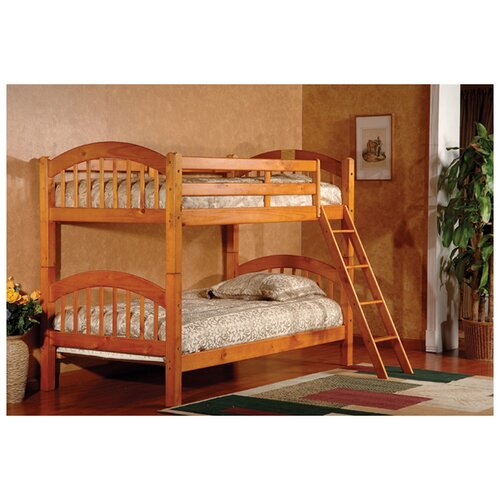 Twin over Twin Arched Bunk Bed