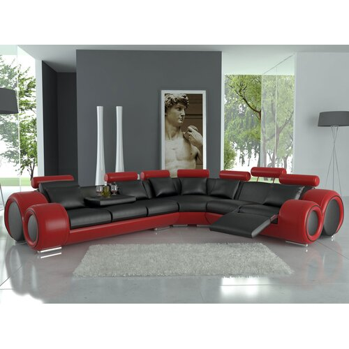 Modern Italian Design Franco Sectional Sofa