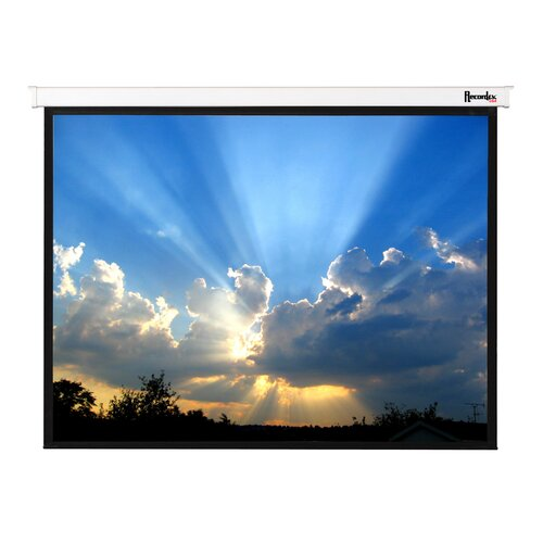Recordex Magnifica Matte White Electric Projection Screen