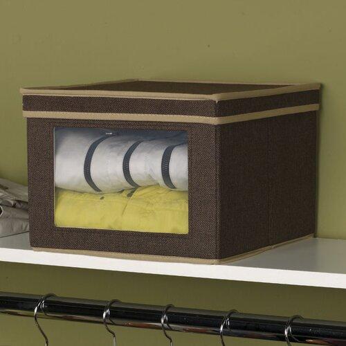 Household Essentials Storage and Organization Vision Box