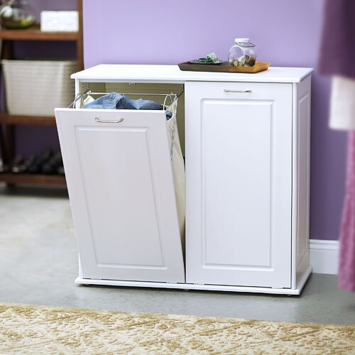 White laundry cabinet wayfair - High end laundry hamper ...