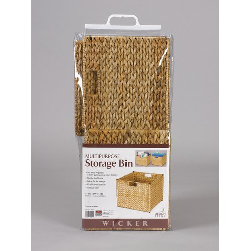 Household Essentials Banana Leaf Storage Bin in Natural