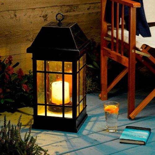 Smart Solar San Rafael Mission Solar Pillar Candle Lantern