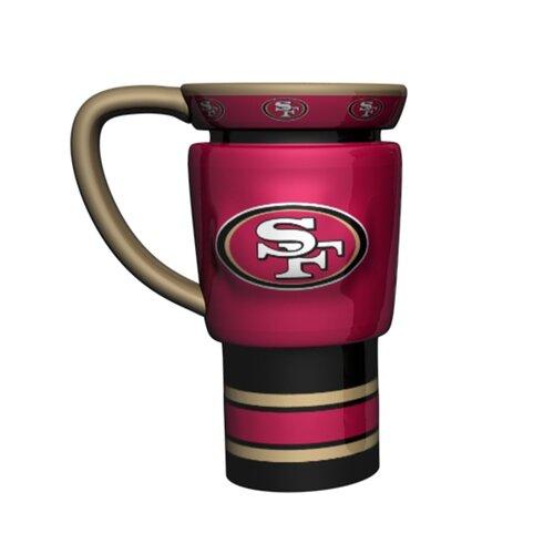 Boelter NFL 16 oz. Sculpted Travel Mug