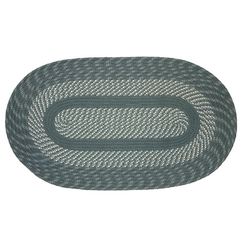 International Textile Manufacturing Cambridge Slate Blue/Light Slate Blue Rug