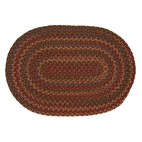 International Textile Manufacturing Monticello Burgundy Rug