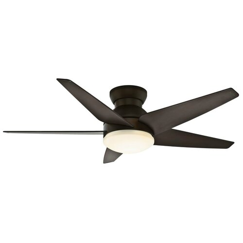 52 Isotope 5 Blade Ceiling Fan Finish Brushed