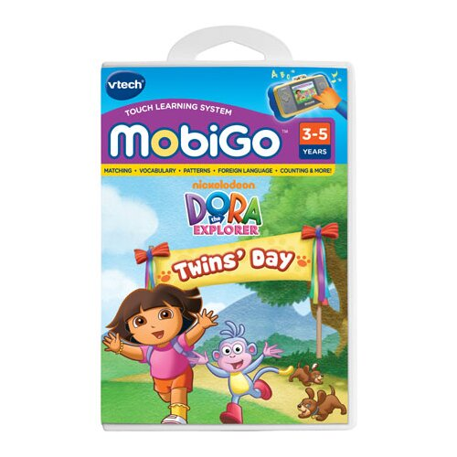 VTech Communications Nickelodeon Dora the Explorer MobiGo Software Cartidge - Dora It's Twins Day